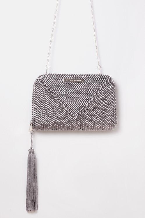 Bolso de fiesta Jimena · gris plata