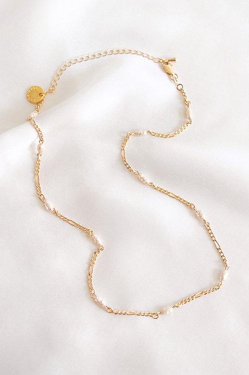 Collar Verena · perlitas naturales