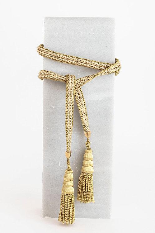 Cinturón Trinidad *METALIZADO* · dorado