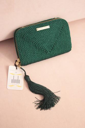 a27565745 Bolso de fiesta Jimena · verde esmeralda