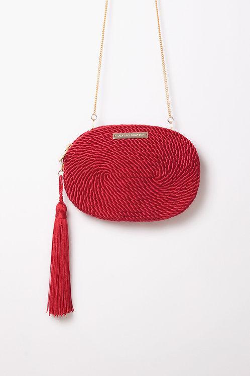 Bolso de fiesta Antonia · rojo Valentino