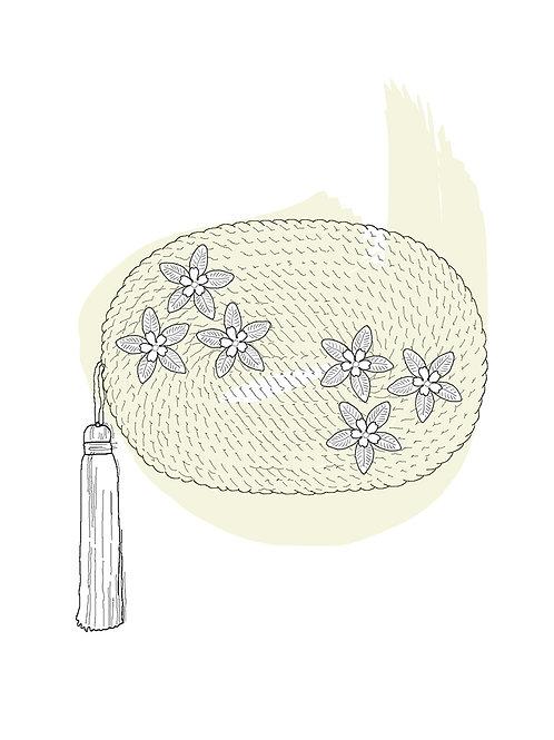 Personalizar bolso con flores · ANTONIA