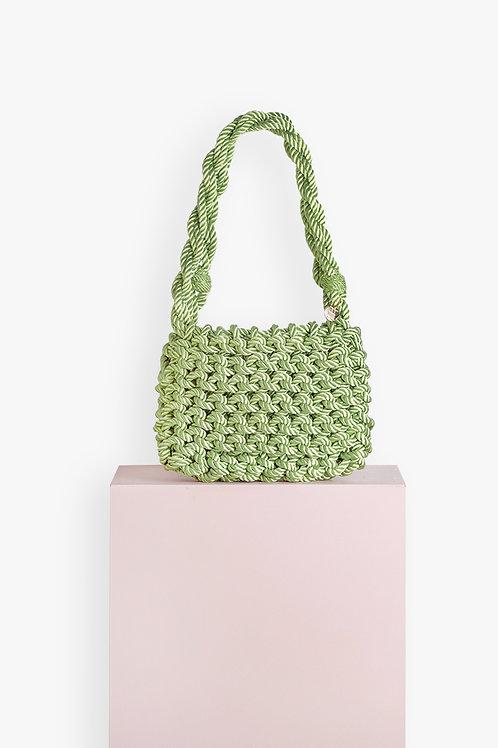 Bolso Concha · Verde Pistacho