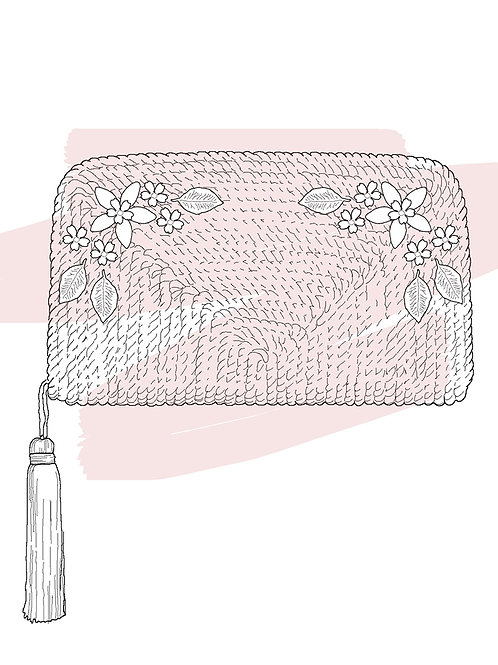 Personalizar bolso con flores · JIMENA