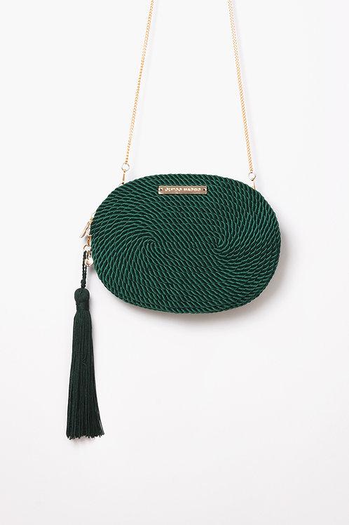 Bolso de fiesta Antonia · verde esmeralda