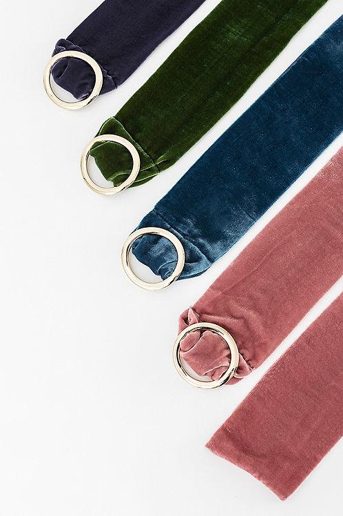 Cinturón terciopelo María · más colores