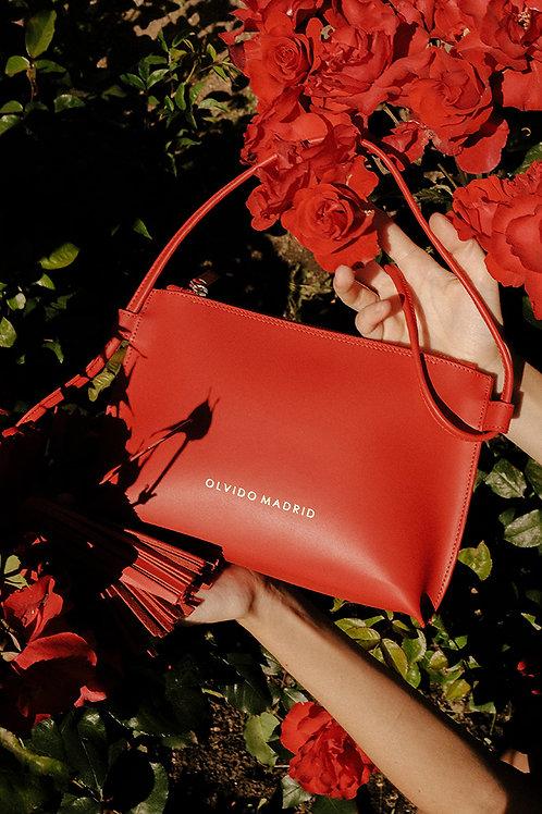 Bolso Esther · Piel Premium Rojo