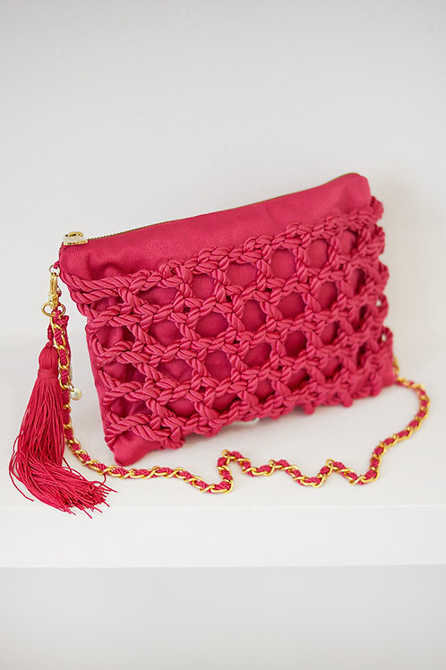 Bolso Aitana · rosa fucsia