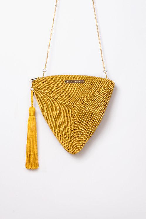 Bolso de fiesta Alejandra · amarillo vintage