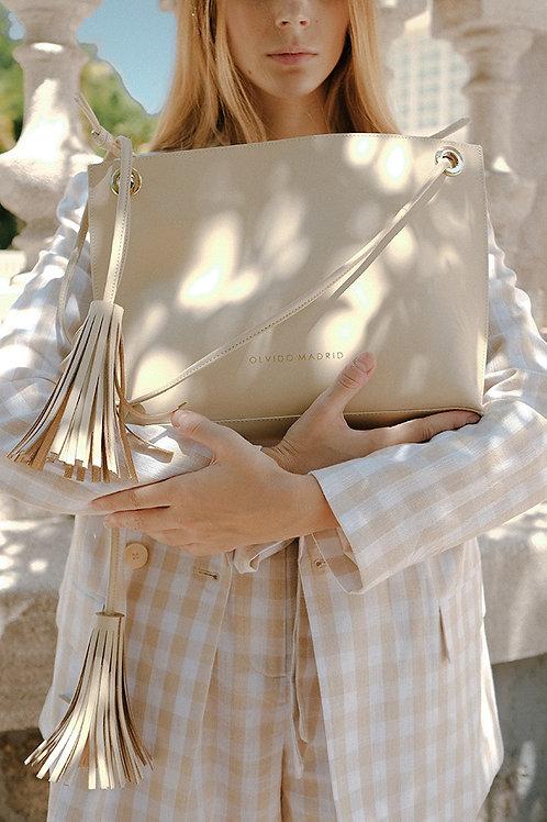 Tote Bag Bea · Piel Premium Nude