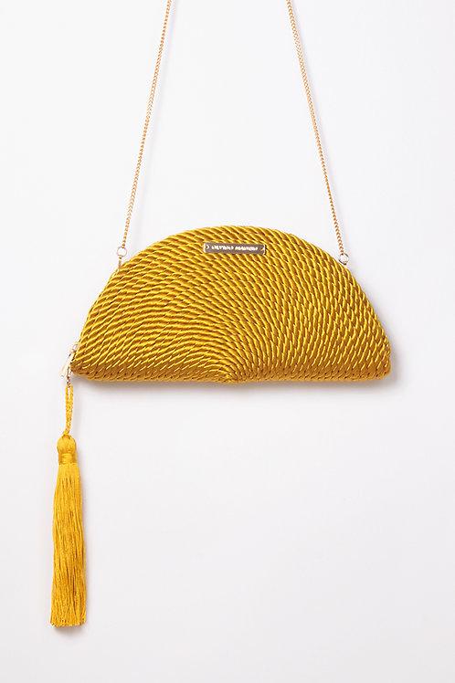 Bolso de fiesta Carmen · amarillo vintage