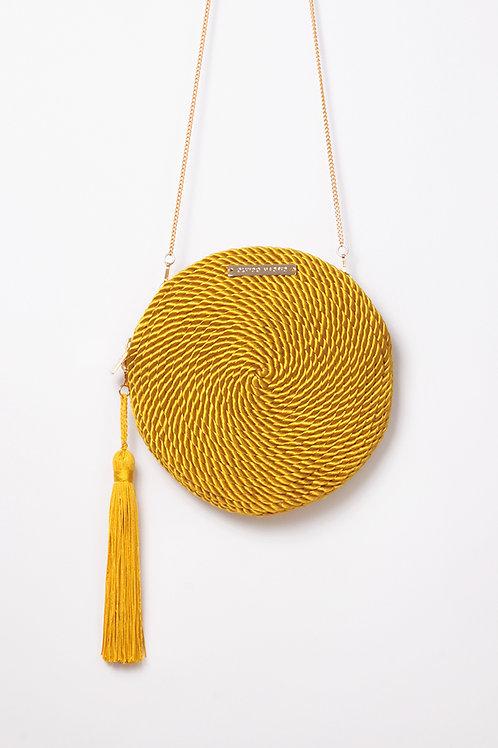 Bolso de fiesta Olivia · amarillo vintage