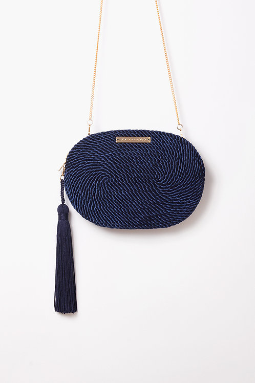Bolso de fiesta Antonia · azul marino