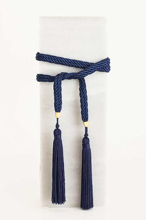 Cinturón de cordón Trinidad · azul marino