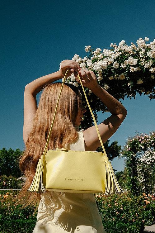 Bolso Esther · Piel Premium Amarillo Limón