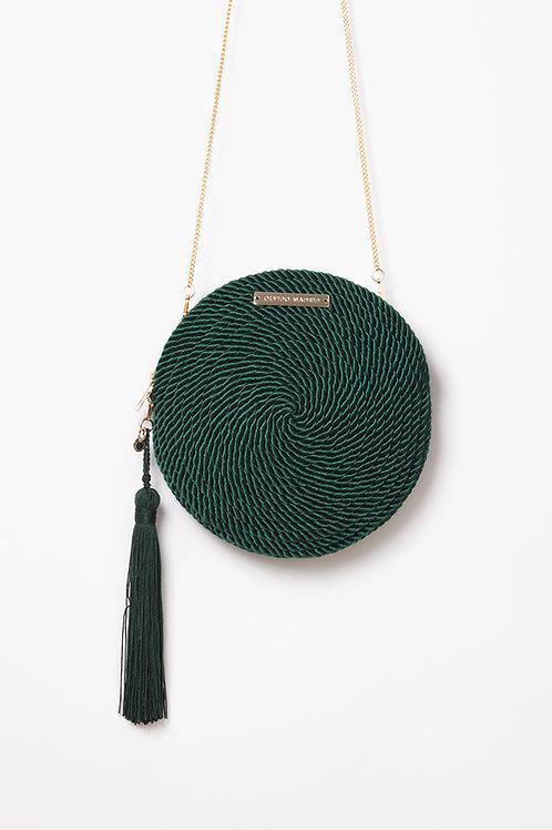 Bolso de fiesta Olivia · verde esmeralda