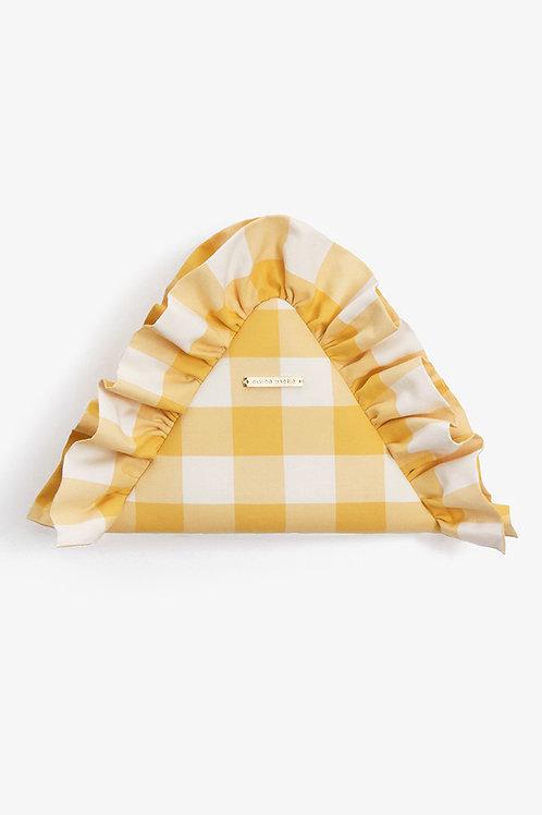 Bolso Alejandra · Vichy XL amarillo