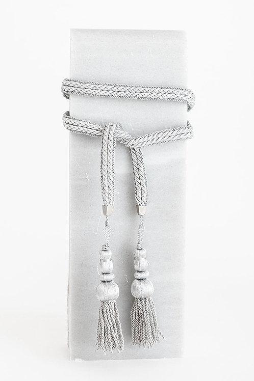 Cinturón Trinidad *METALIZADO* · plata