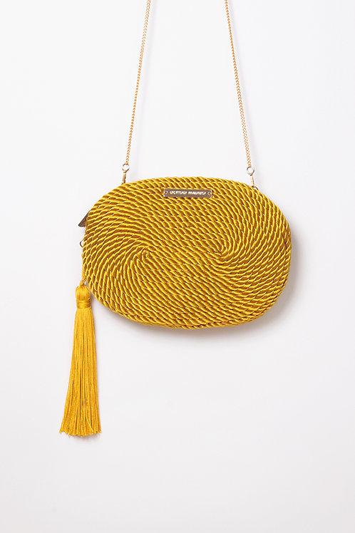 Bolso de fiesta Antonia · amarillo vintage
