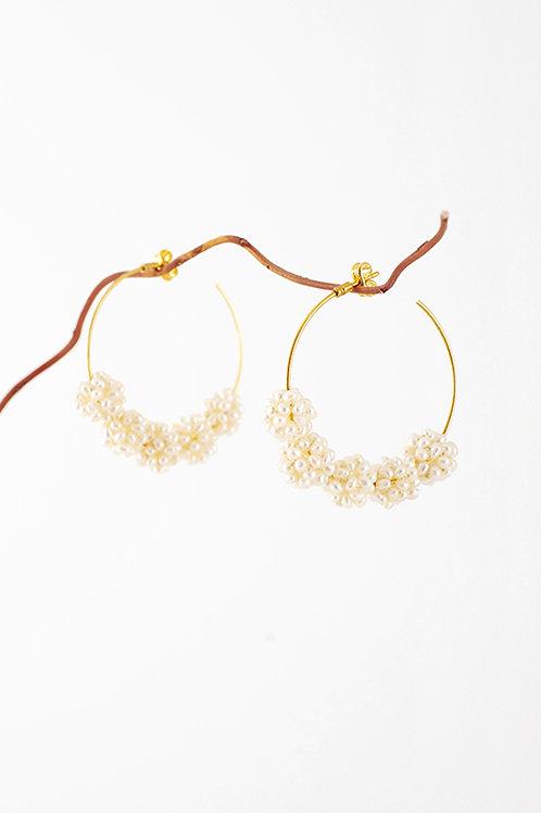 Pendientes Pearls · moras de perlitas naturales