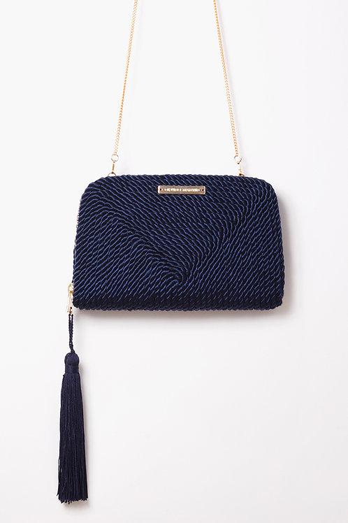 Bolso de fiesta Jimena · azul marino
