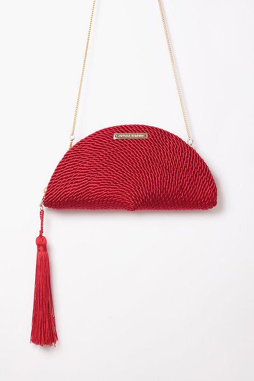 Bolso de fiesta Carmen · rojo Valentino