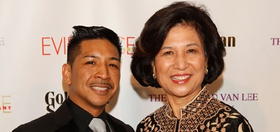 Arcell Cabuag and Loida Lewis