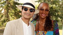 Khephra Burns and Susan Taylor
