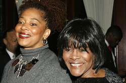 Terri McMillan and Cicely Tyson