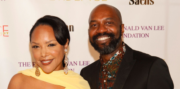 Ronald K. Brown with host Lynn Whitfield
