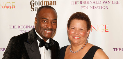 Reggie Van Lee and Debra Lee