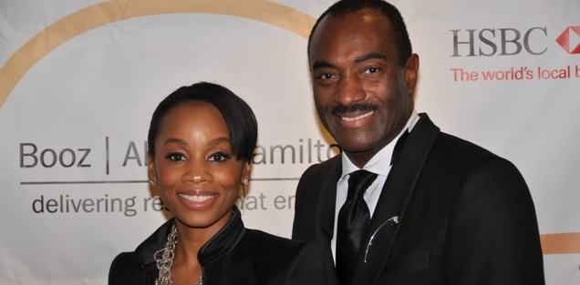 Anika Noni Rose and Reggie Van Lee