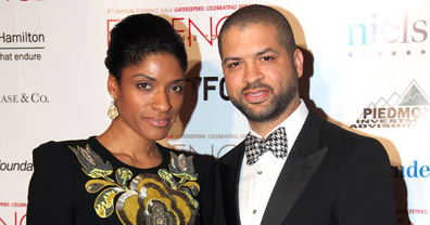 Alicia Hall Moran and Jason Moran