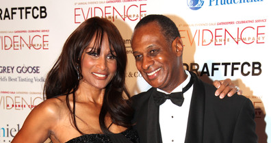 Beverly Johnson and Brian Maillian
