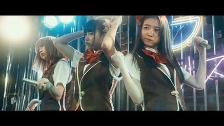 "stage costume design of a Japanese movie ""Back Street Girls - gokudoruzu - """