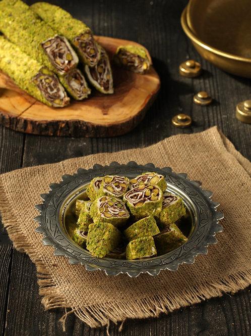 NUTELLA AND PISTACHIO TURKISH DELIGHT, 500 gr (17.6 oz)