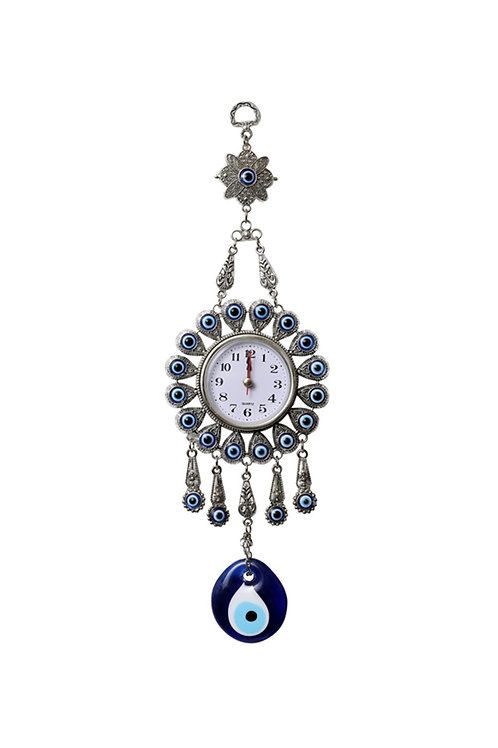 SMALL EVIL EYE WALL CLOCK 003, 5 PIECES
