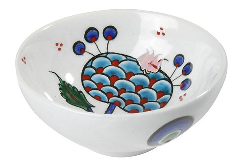 "EXCLUSIVE TURKISH CERAMIC BOWL, 8 cm (3.1""), FLORAL"