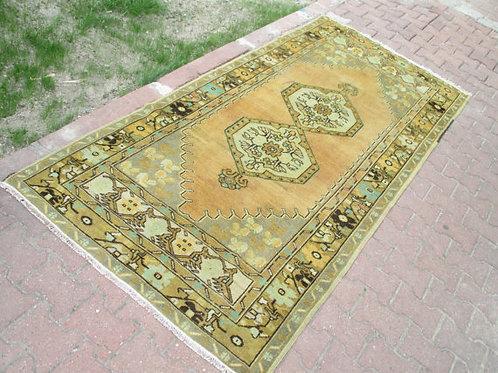"""TURKISH KILIM RUG, 259 x 119 cm ( 101 x 47 """")"""