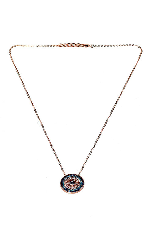 EVIL EYE NECKLACE, EVIL EYE 008