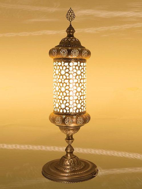 LARGE OTTOMAN FLOOR / TABLE LAMP