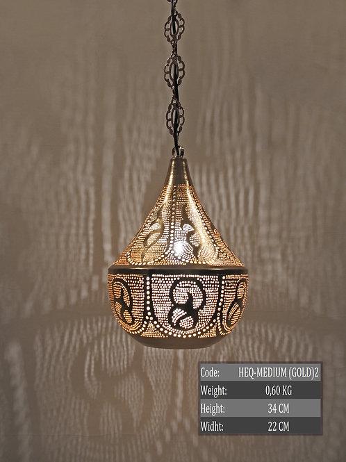 MEDIUM HANDMADE MOROCCAN HANGING LAMP