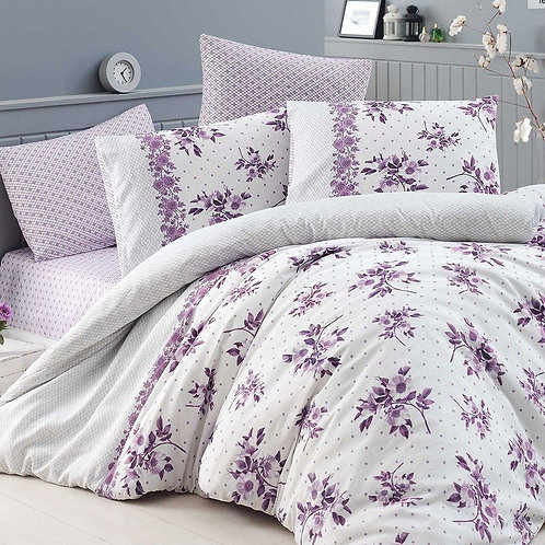 SINGLE BED DUVET COVER AND CUSHION COVER