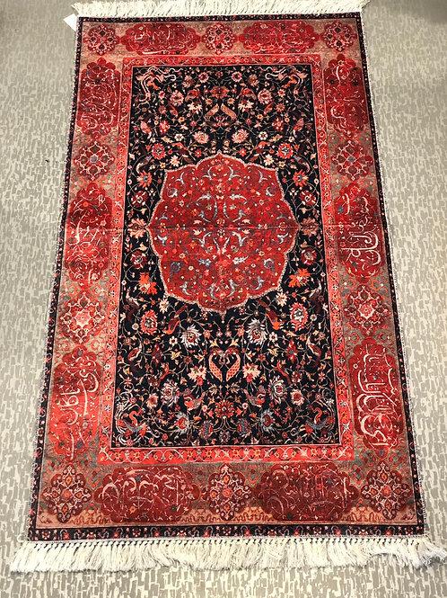 """UNIQUE TURKISH RUG, 80 x 150 cm (31.4"""" x 59"""")"""