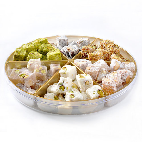 5X MIX TURKISH DELIGHT BOX, 475 GR