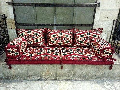 LARGE SEDIR CUSHION SET - TURKISH RESTAURANT / HOTEL DECOR, 005
