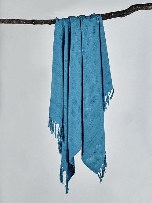 NATURAL TURKISH PESHTEMAL,0039, BLUE