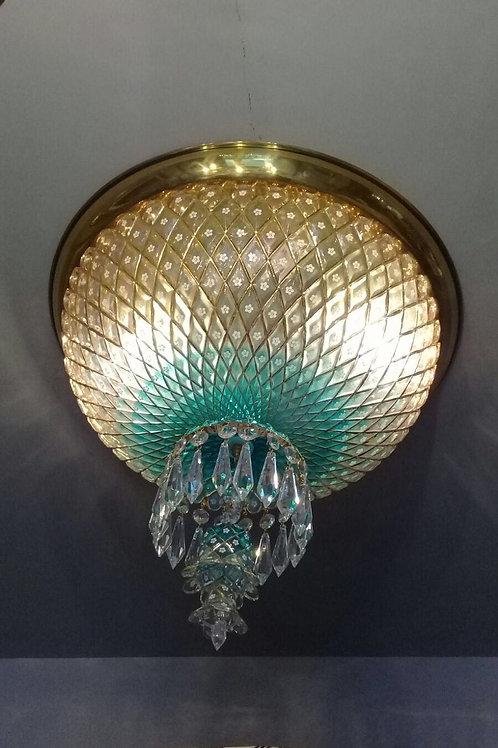 HANDMADE CRYSTAL PALACE CEILING LAMP