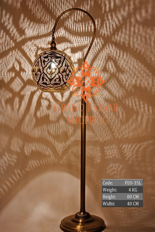 LARGE HANDMADE MOROCCAN FLOOR LAMP