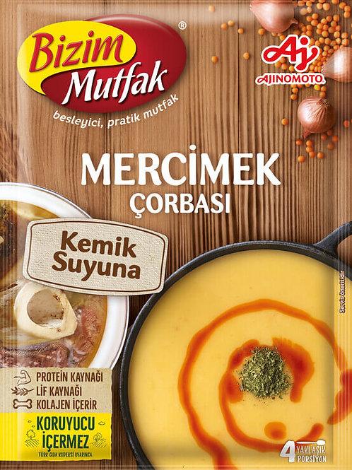 50x TURKISH LENTIL SOUP WITH BONE BROTH